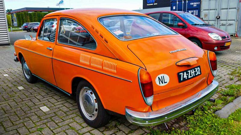 VW 1600 Fastback uit 1972