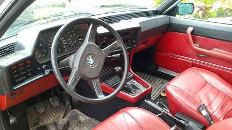 BMW 633 CSI Coupé uit 1979