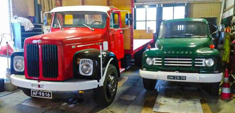 Scania en Bedford