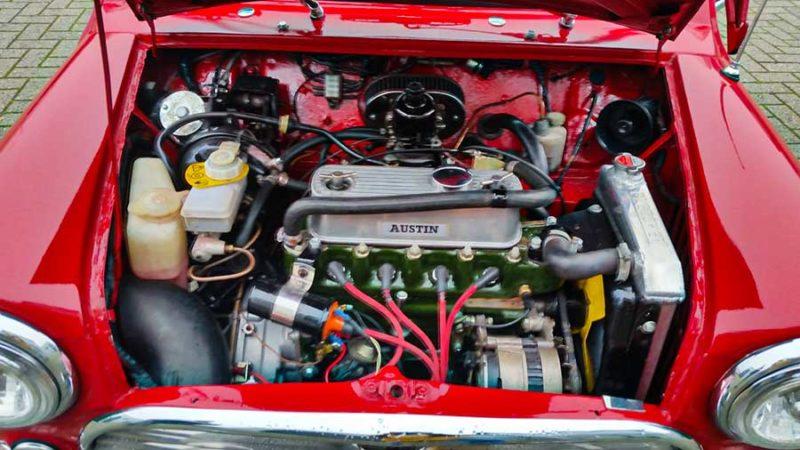 Austin Mini Cooper S nabouw