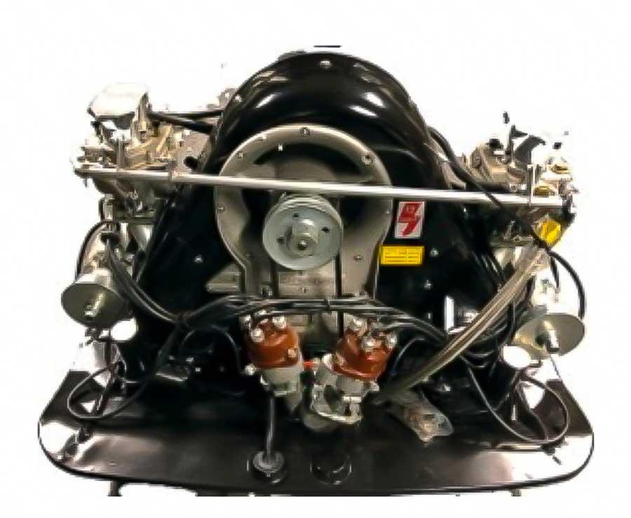 Porsche Type 1600 Carrera GT engine