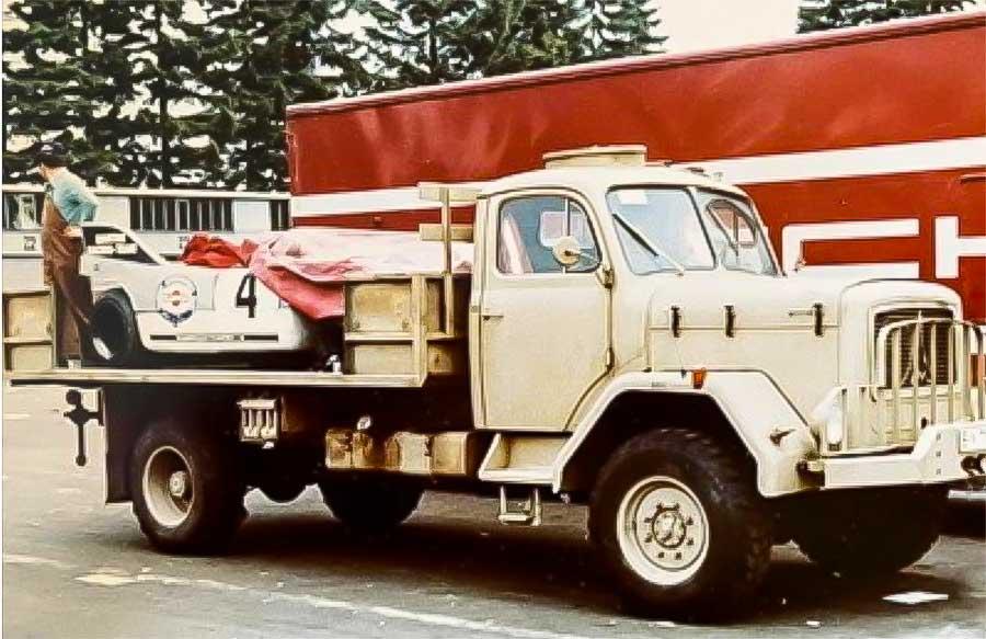Magirus Deutz 112 D7 AL Porsche transporter