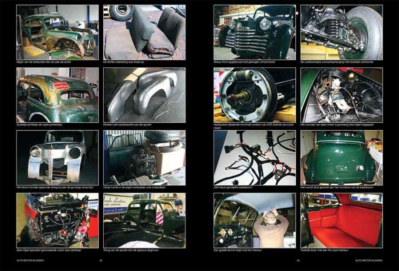 Opel Olympia restauratie