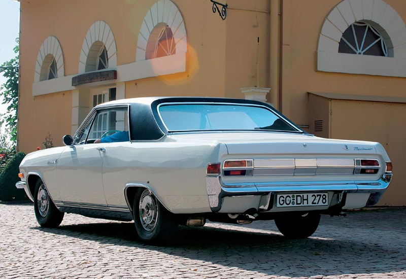 1965 opel diplomat v8 coupe 6