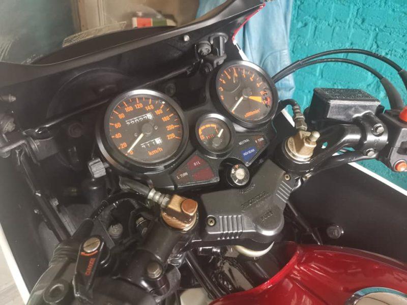 Honda CBX550 F