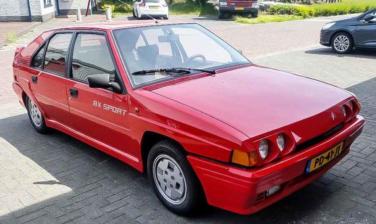 Citroen BX Sport 1986. De echte iconische Flodder BX 1