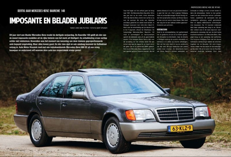 Mercedes Benz 400 SE W140