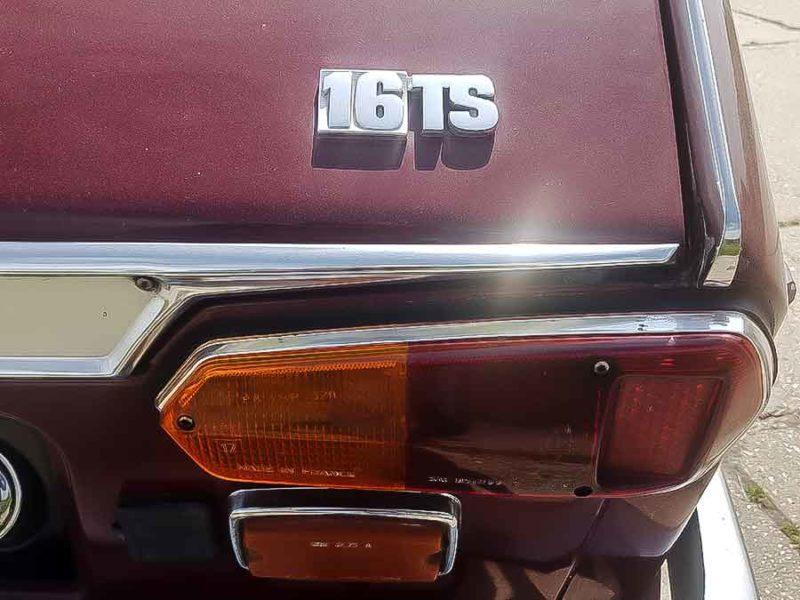 Renault 16 TS 1968. De voltreffer van Jaap 2