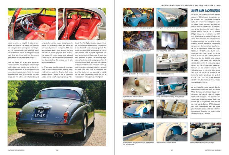 Restauratie modificatieverslag Jaguar Mark II 1964