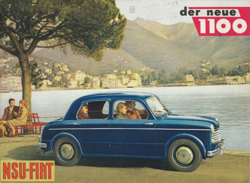 1954 NSU Fiat 1100