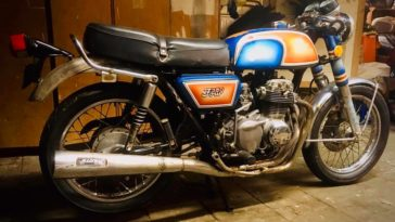 Honda CB350 F