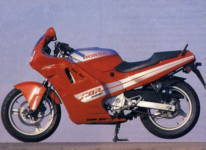 Honda CBR600F 88