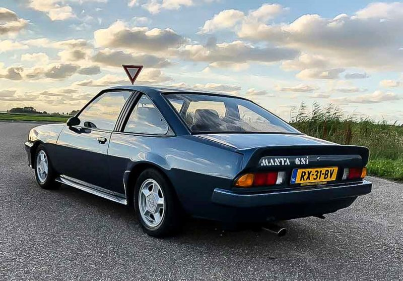 Opel Manta GSI (1987)