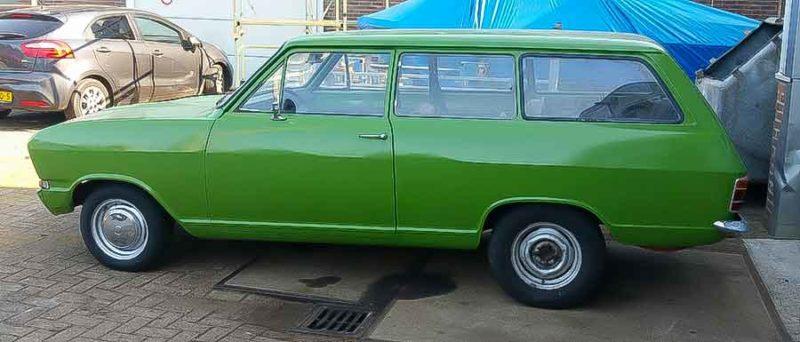 Opel B Kadett Caravan van Sjoerd 1973 2