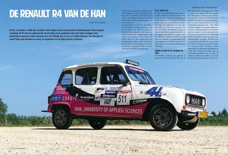 Renault R4 van de HAN