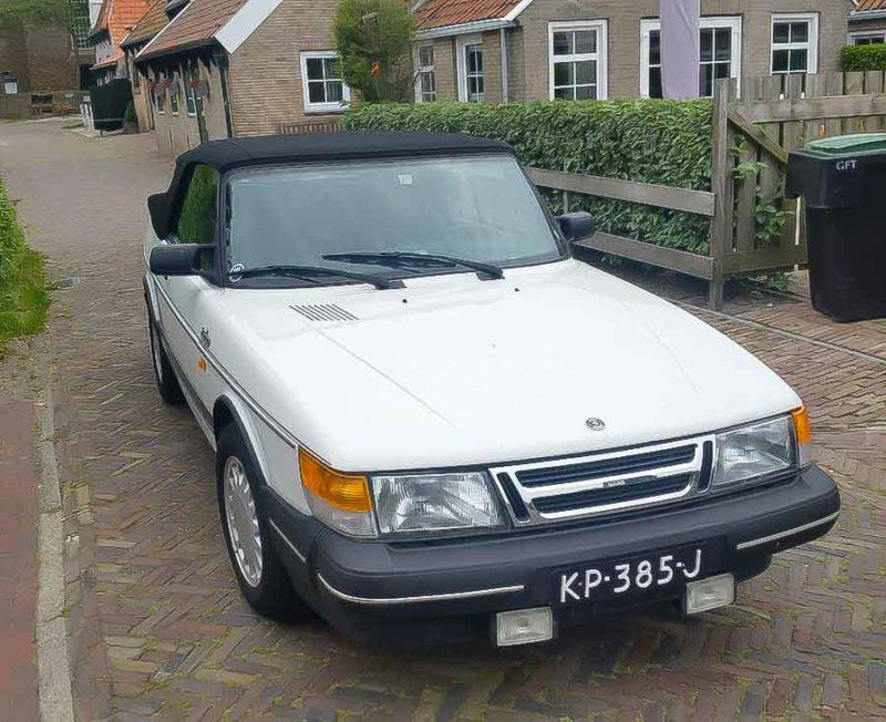 Saab Cabrio 900 Turbo 1988 1