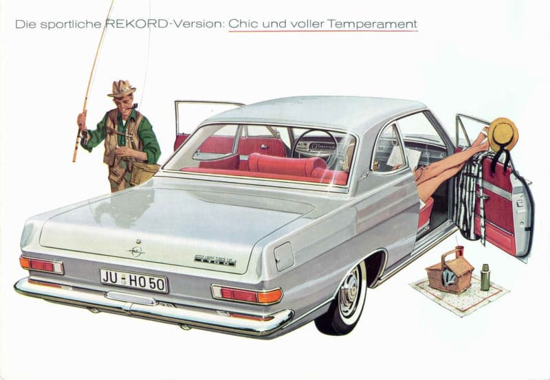 1962 Opel Rekord A Coupe