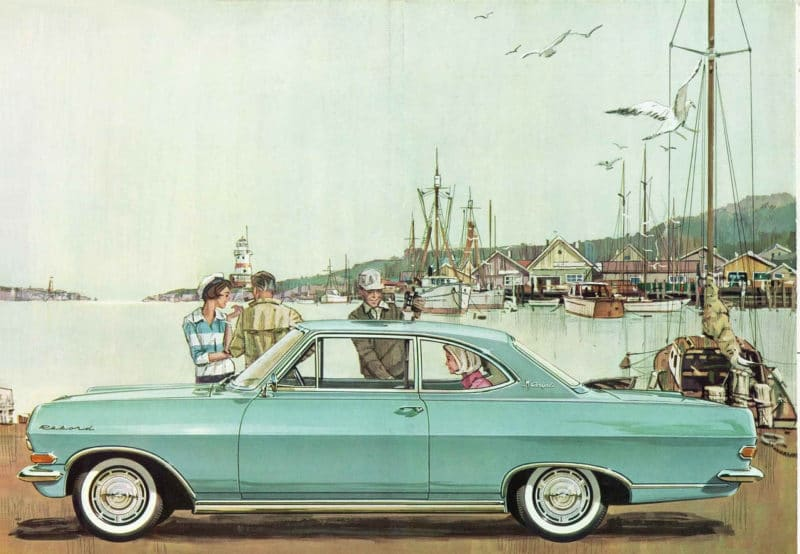 1962 Rekord Coupe