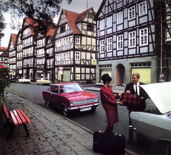 1965 Kadett Kieuwen coupe
