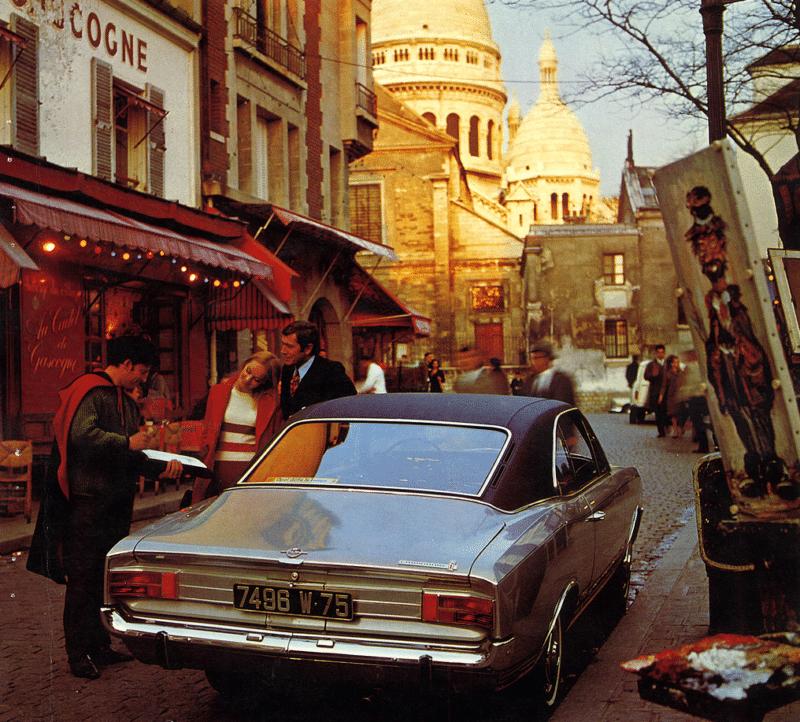Commodore A in Parijs folder van 1969