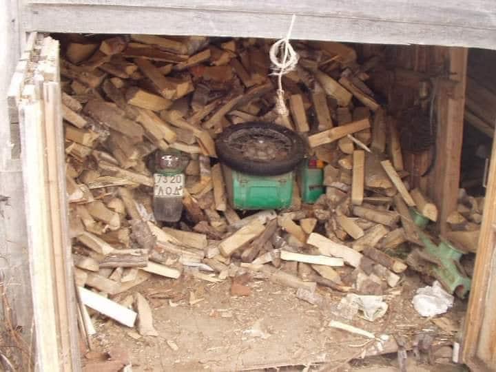 Ural vondst hout