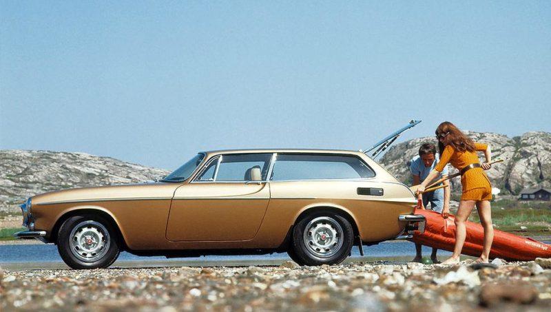 Volvo 1800ES: een kano of surfplank schoof je er zó in