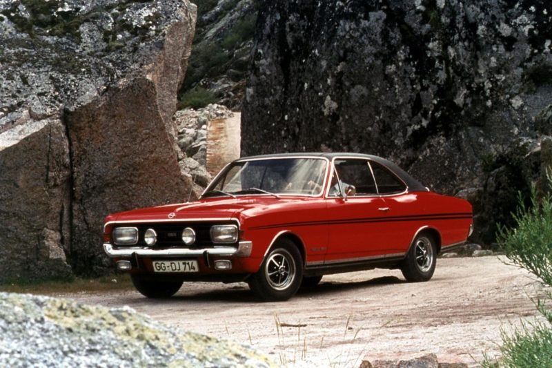 opel commodore a coupe gse